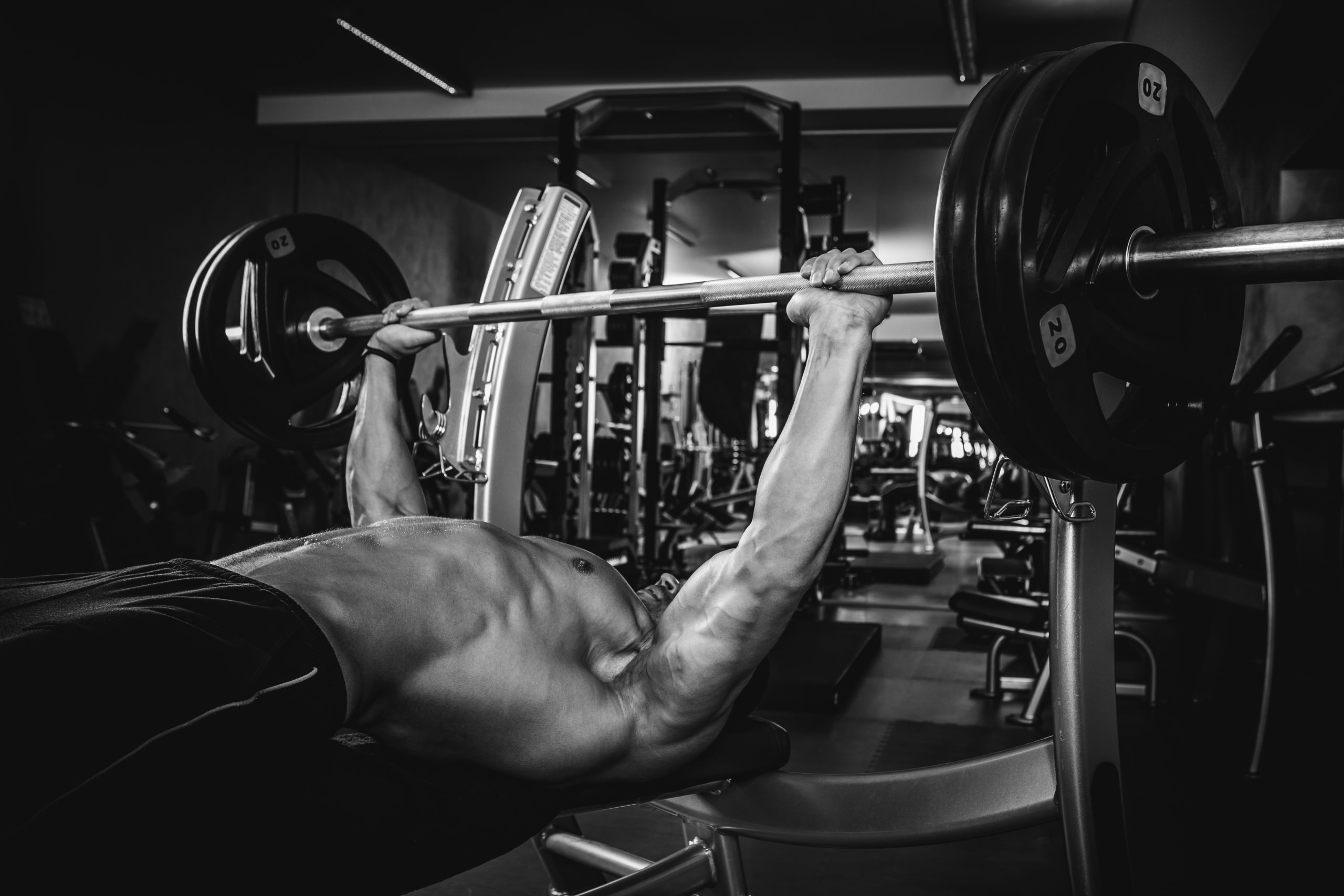 Lats in the Bench Press
