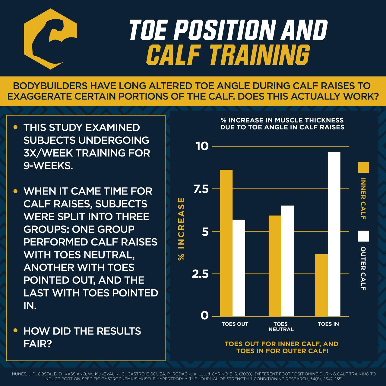 Toe Angle and Calf Raises